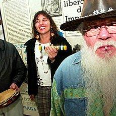 Aline e Hermeto com o Ceará, do saudoso Forró Calamangau!